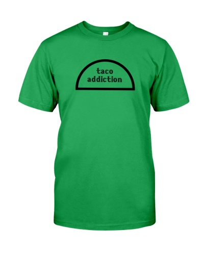 taco addiction shirt