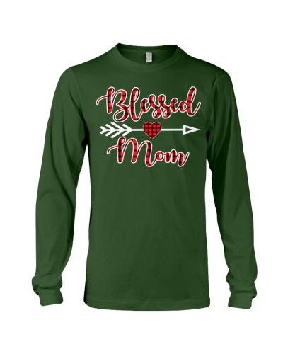 Blessed Mom Of Pajama christmas Gift Moms Mothers