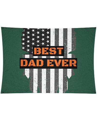 Best Dad Ever American Flag Best Gift For Fathers