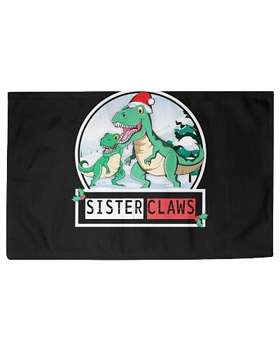 SISTER Claws Saurus TRex Dinosaur Christmas