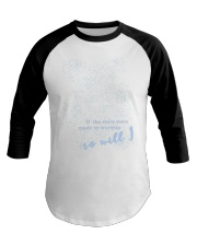 If the stars were so will i Baseball Tee tile