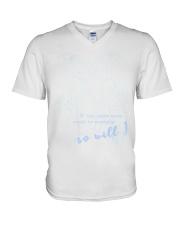 If the stars were so will i V-Neck T-Shirt thumbnail