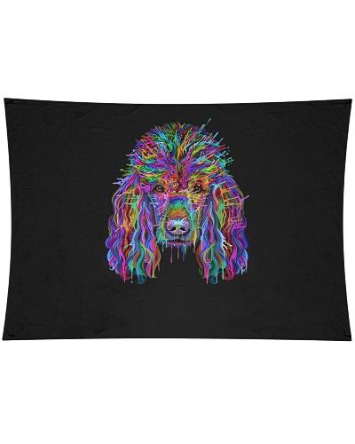 Poodle Splash Art Funny Dog Lover Gifts
