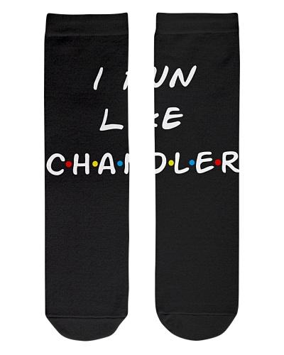 I run like Chandler Friends serie tv show