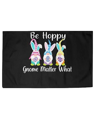 Easter Gnome Be Hoppy Spring Bunny Pun