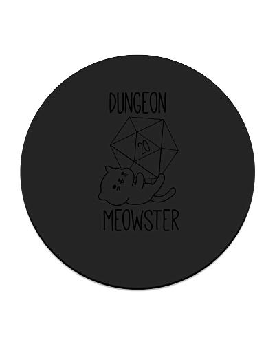 Dungeon Meowster Nerdy Kitty Kawaii Cat D20