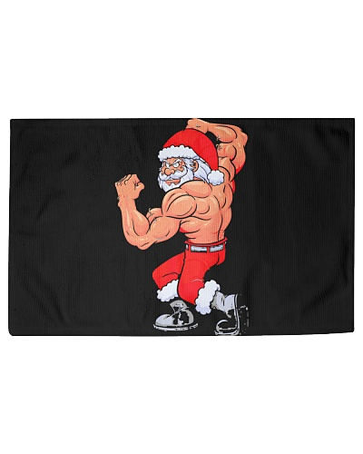 Santa Fitness Christmas Bodybuilding Gym