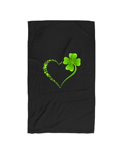 Puzzle Heart St Patricks Day Autism Awareness