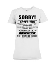 The perfect gift for Girlfriend JULY Premium Fit Ladies Tee thumbnail