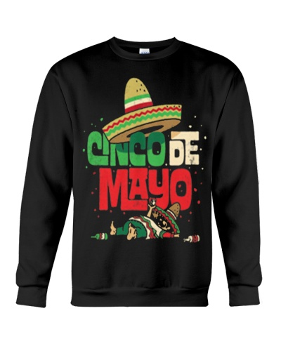 CINCO DE MAYO SHIRT MEXICAN SOMBRERO FUN