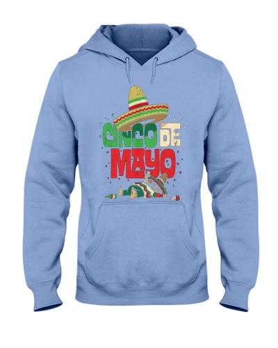 CINCO DE MAYO SHIRT MEXICAN SOMBRERO FUN