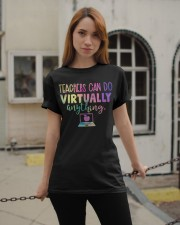 Teachers Can Do Virtually Anything Classic T-Shirt apparel-classic-tshirt-lifestyle-19