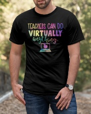 Teachers Can Do Virtually Anything Classic T-Shirt apparel-classic-tshirt-lifestyle-front-53