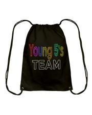 Teacher shirt Drawstring Bag thumbnail