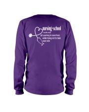 Tennessee Nurse shirt Long Sleeve Tee tile