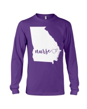 Georgia Nurse shirt Long Sleeve Tee thumbnail