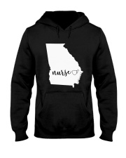 Georgia Nurse shirt Hooded Sweatshirt thumbnail