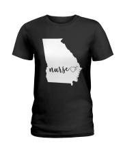Georgia Nurse shirt Ladies T-Shirt thumbnail