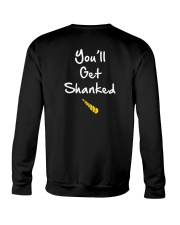 DON'T MESS WITH AUNTICORN YOU'LL GET SHANKED Crewneck Sweatshirt back