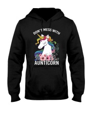 DON'T MESS WITH AUNTICORN YOU'LL GET SHANKED Hooded Sweatshirt thumbnail