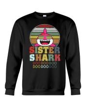 Sister Shark Doo Doo Doo Doo Doo Doo Crewneck Sweatshirt thumbnail