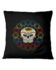 Candy Skull -  Skull Bundle Great Gift 01 Square Pillowcase thumbnail