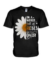 ROSE DAISY V-Neck T-Shirt thumbnail