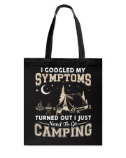 NEED TO GO CAMPING Tote Bag tile