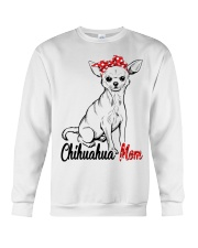 Chihuahua Mom With Red Bandana Crewneck Sweatshirt tile