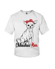 Chihuahua Mom With Red Bandana Youth T-Shirt tile