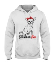 Chihuahua Mom With Red Bandana Hooded Sweatshirt tile