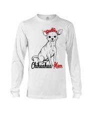 Chihuahua Mom With Red Bandana Long Sleeve Tee tile