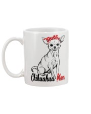 Chihuahua Mom With Red Bandana Mug back