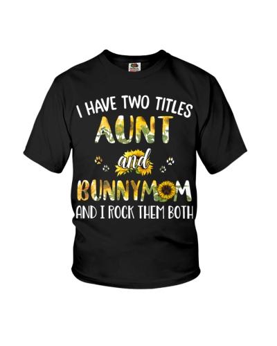 AUNT BUNNY MOM