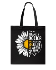 DOCTOR DAISY Tote Bag tile