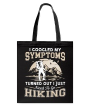 HIKING NEED TO GO Tote Bag thumbnail