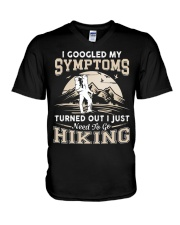 HIKING NEED TO GO V-Neck T-Shirt thumbnail