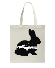 BUNNY IN THE NIGHT Tote Bag thumbnail