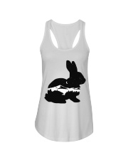 BUNNY IN THE NIGHT Ladies Flowy Tank thumbnail