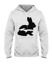 BUNNY IN THE NIGHT Hooded Sweatshirt thumbnail