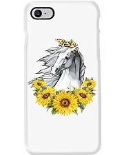 Horse Sunflower Phone Case thumbnail