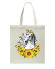 Horse Sunflower Tote Bag thumbnail