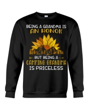 AN HONOR CAMPING GRANDMA Crewneck Sweatshirt tile