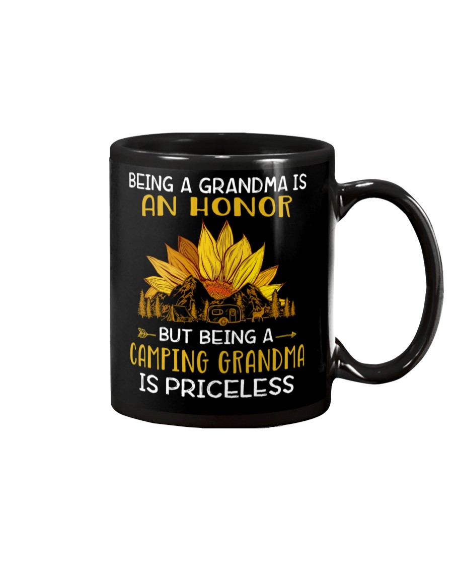 AN HONOR CAMPING GRANDMA Mug