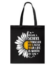 SCHOOL COUNSELOR DAISY Tote Bag thumbnail