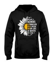 SCHOOL COUNSELOR DAISY Hooded Sweatshirt thumbnail