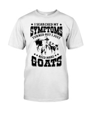Just need more Goats Classic T-Shirt front