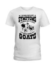 Just need more Goats Ladies T-Shirt thumbnail