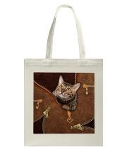 Cat Leather like Tote Bag thumbnail