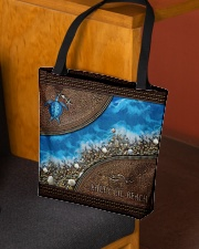 Turtle Sea Salty Lil' Beach All-over Tote aos-all-over-tote-lifestyle-front-02